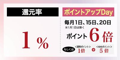 ゆめタウン高松店ポイント還元率